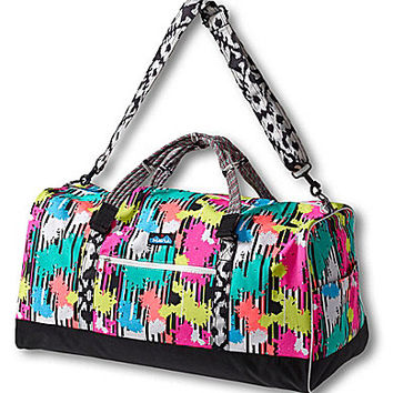 Kavu Duffy Printed Extra Large Duffle Bag - Retro Palm