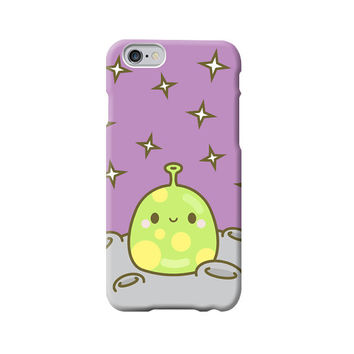 Cute Smiley Alien Planet Kawaii iPhone 6 /5/5s/5c/4/4s case/cover Purple Star Galaxy Space - Retro, Japanese, Cartoon, Smiley Food, Happy