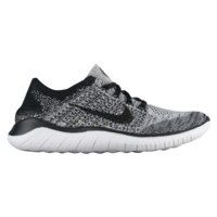 Nike Free RN Flyknit 2018 - Women's - Performance Running Shoes - Running - Shoes - Nike - Women's - White/Black | Lady Foot Locker