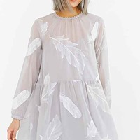 Little White Lies Charli Dress- Light Grey