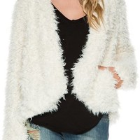 FREE PEOPLE HOODED FLUFFY COAT | Swell.com