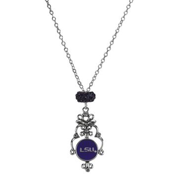 Louisiana State University - Filigree Necklace
