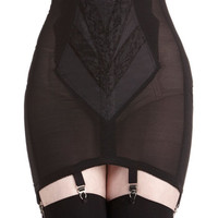 Pinup Polished Appearance Garter Skirt