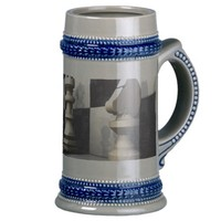 Chess Style Beer Stein