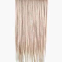 Flaxen Tousled Long Heat-Resistant Straight Hair Extension