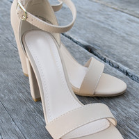 Adjustable Amy Heel Shoes