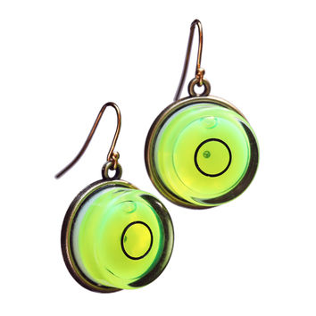 Large level earrings