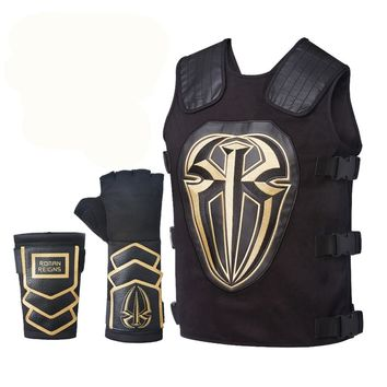 Covers Ornamental Mouldings Gold,Silver,white,black,blue,red Roman Reigns Tactical Replica Vest Superman Punch Glove Costume