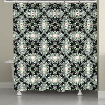 Lichen Journey Shower Curtain