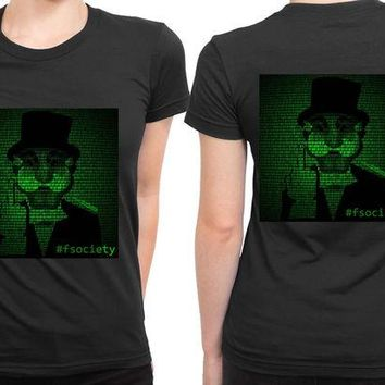 DCCKG72 Mr Robot Hashtag Fsociety 2 Sided Womens T Shirt