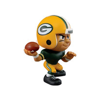 Green Bay Packers NFL Lil Teammates Vinyl Quarterback Sports Figure (2 3-4 Tall) (Series 3)