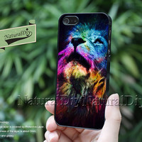 The lion, Resin Phone cases, iPhone 5S 5 5C Case, iPhone 4S 4 Case, Samsung Galaxy S3 S4 S5 Case, Note 2 Note 3 Case, 51115
