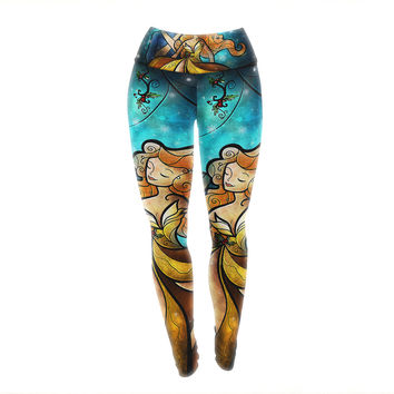 "Mandie Manzano ""Nutcracker"" Yoga Leggings"