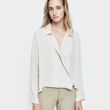 Jesse Kamm / The Newton Blouse in Bone