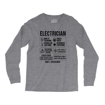 Electrician Long Sleeve Shirts