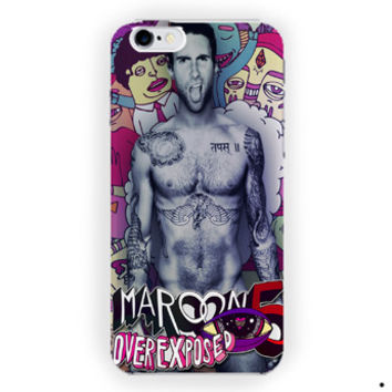 Adam Levine Maroon 5 Everexposed For iPhone 6 / 6 Plus Case