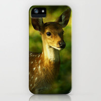 Indian Deer iPhone Case by jacqi | Society6