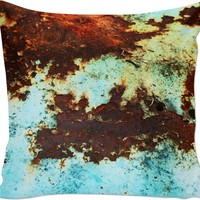 Rusted Couch Pillow