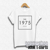 the 1975 band shirt t-shirt white DW38