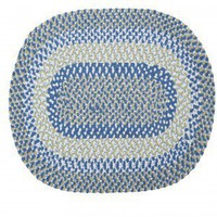 Colonial Mills Blokburst Blueberry Pie Kids / Juvenile Rug - BK59 - Cotton Rugs - Area Rugs by Material - Area Rugs