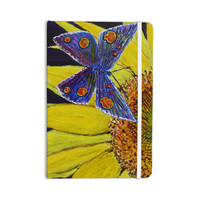 "David Joyner ""Butterfly"" Blue Yellow Everything Notebook"
