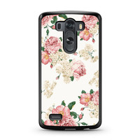 Sweet Flowers Patterns LG G3 case