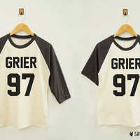 Grier 97 Shirt Youtube Tumblr Instagram Fashion Hipster Rock Shirt Baseball Raglan Shirt Baseball Shirt Unisex Shirt Women Shirt Men Shirt