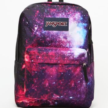 JanSport Multicolor High Stakes School Backpack - Womens Backpack - Multi - One