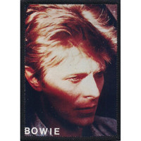David Bowie Men's Photo Photo Patch Black