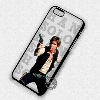 Han Solo Frozen Star Wars - iPhone 7 6 5 SE Cases & Covers