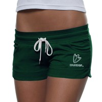 Hurley Oregon Ducks Ladies Cruiser Knit Shorts - Green