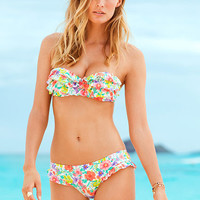 Floral Push-up Bandeau Top - Beach Sexy - Victoria's Secret