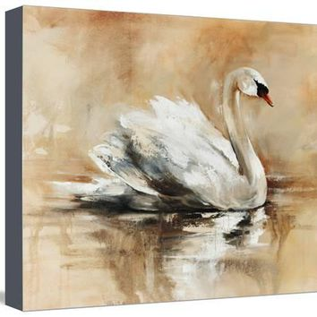 Swan Lake Giclee Print by Sydney Edmunds at Art.com