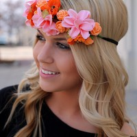 Tropical Hibiscus Headband