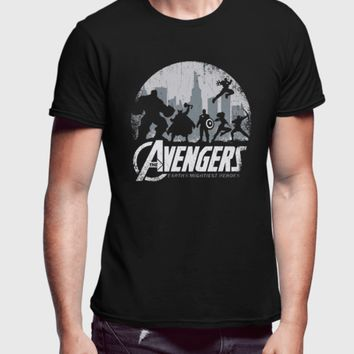 Avengers Half Sleeves T-shirt