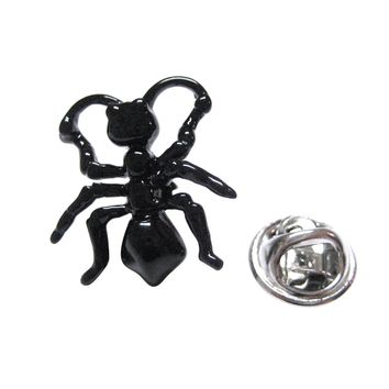 Black Ant Insect Lapel Pin