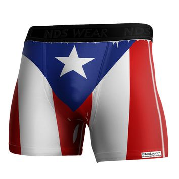 Puerto Rico Flag AOP Boxer Brief Dual Sided All Over Print