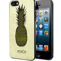 Psych Pineapple Quotes Samsung Galaxy S3 S4 S5 Note 3 , iPhone 4 5 5c 6 Plus , iPod 4 5 case