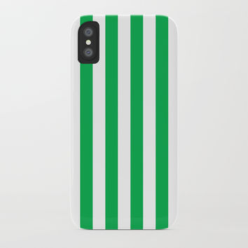 Vertical Green Stripes by CoolFunAwesomeTime