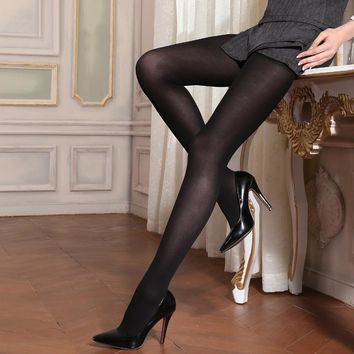 MISILCK 120D Spring Autumn Thick nylons lady pantyhose,Leg shaping silk stockings,compression tights fishnet  2017