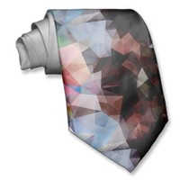 Abstract Vintage Triangles Neck Ties from Zazzle.com