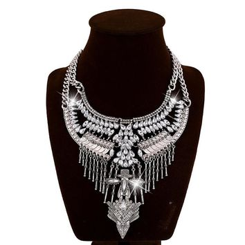 Gift Jewelry Shiny New Arrival Stylish Metal Vintage Fashion Necklace [6056638977]