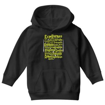 Expelliarmus Harry Potter Spell Youth Hoodie