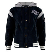 Los Angeles Kings - Logo Stagger Adult Jacket