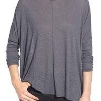 Sun & Shadow Mock Neck Dolman Tee | Nordstrom