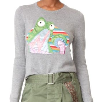 Frog Crew Neck Sweater