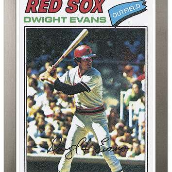 1977 Dwight Evans Archive Print #25-Light Brown-23 x 31
