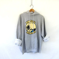 Vintage Al Asad Iraq Military gray Sweatshirt / Military Air Base