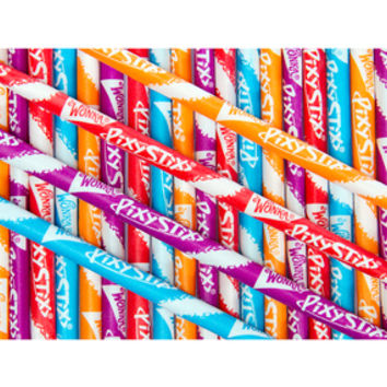 Wonka Pixy Stix Candy Powder Straws: 2500-Piece Case