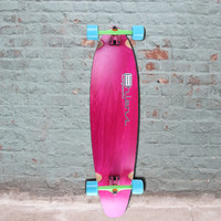 Kicktail Longboard Pink 40 inch from Ehlers - Complete